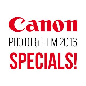 Canon Photo & Film Expo 2016 Specials