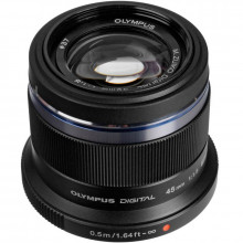 Olympus M. Zuiko Digital ED 45mm f/1.8 Lens Black