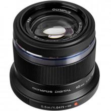 Olympus M. Zuiko Digital ED 45mm f/1.8 Lens Black
