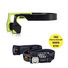 Aftershokz Headphones (Neon) & Fenix Headlamp Bundle