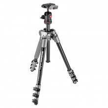 Manfrotto BeFree Compact Travel Aluminum Alloy Tripod (Grey)