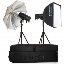 Broncolor Siros 800 S WiFi/RFS 2.1 Expert 2-Light Studio Kit