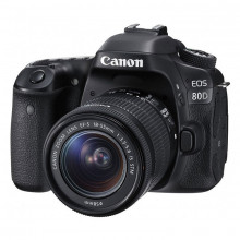 Canon EOS 80D DSLR with 18-55mm f/3.5-5.6 IS STM Lens