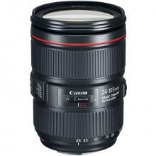 Canon EF 24-105mm f/4L IS II USM Lens Side Angled