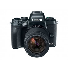 Canon EOS M5 Mirrorless with 15-45mm Lens + Free EF Mount Adapter