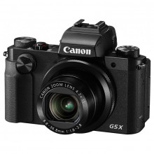 Canon PowerShot G5 X Digital Camera Black