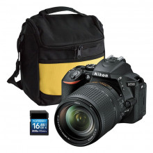 Nikon D5500 with 18-140mm VR Lens | Bag & 16GB SD Card included