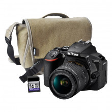 Nikon D5600 DSLR with AF-P 18-55mm DX VR II Lens