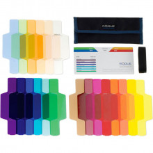 ExpoImaging Rogue Gels Universal Lighting Filter Kit (Set of 20)