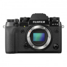 Fujifilm X-T2 Mirrorless Digital Camera (Body Only) (Black)