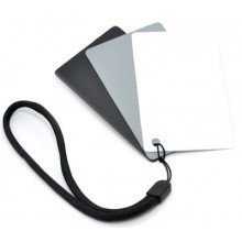 JJC  3 in1 Digital Gray Card & White Balance