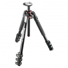 Manfrotto 190 Aluminium 4-Section Tripod