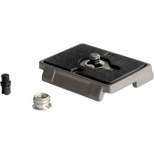 """Manfrotto 200PL Rectangular Plate 1/4"""" and 3/8"""" screw"""