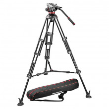 Manfrotto Pro Video Kit: MVH502A Head + 546B Tripod + Unpadded Bag