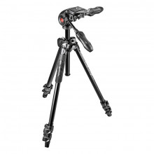 Manfrotto MK290LTA3-3W 290 Light Aluminium 3-Section Kit with 3-Way Head