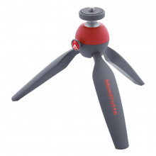 Manfrotto PIXI Mini Table Top Tripod (Red)