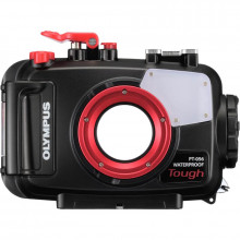 Olympus PT-056 Underwater Housing for TG-3 Front