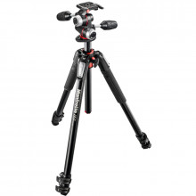 Manfrotto MK055XPRO3-3W Aluminum Tripod with 3-Way Pan/Tilt Head - 1
