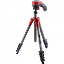 Manfrotto New Compact Action Tripod Red