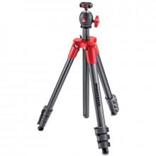 Manfrotto New Compact Light Tripod Red