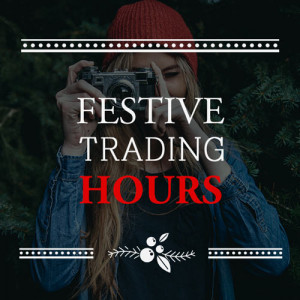 2016 Festive Trading Hours and Last Order Dates