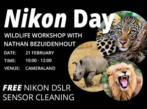 Nikon Day at Cameraland 21 February!