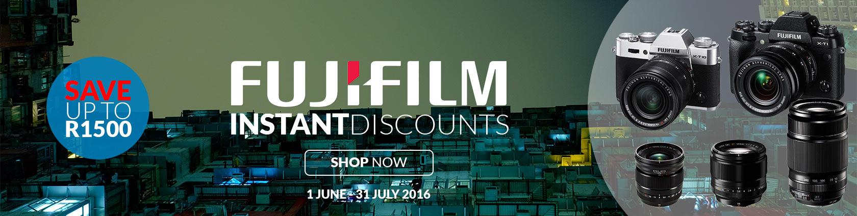 Fuji Instant Discount Promo