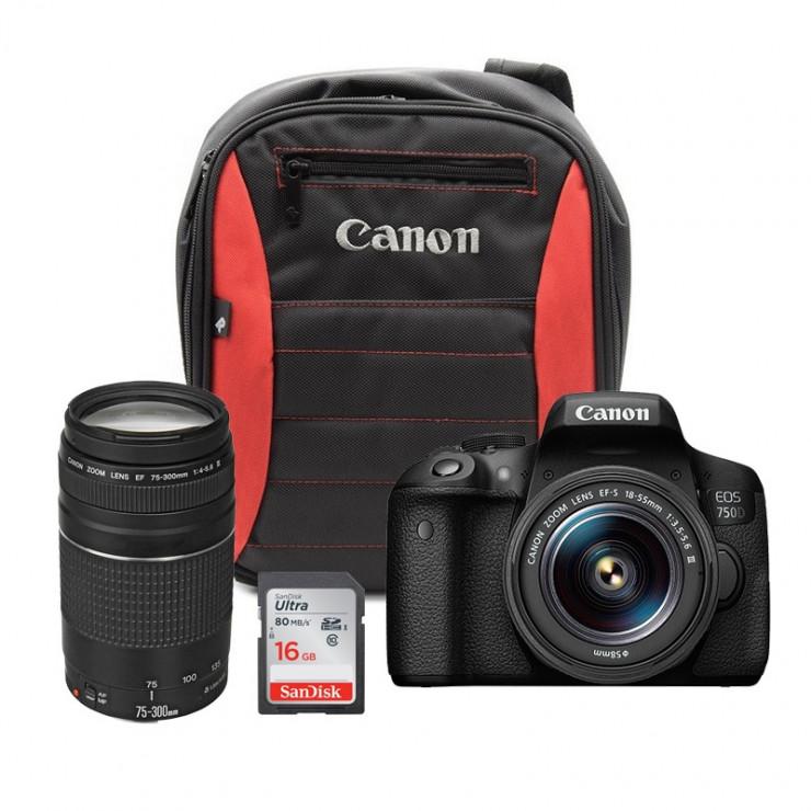 Canon EOS 750D Dare To Dream Bundle