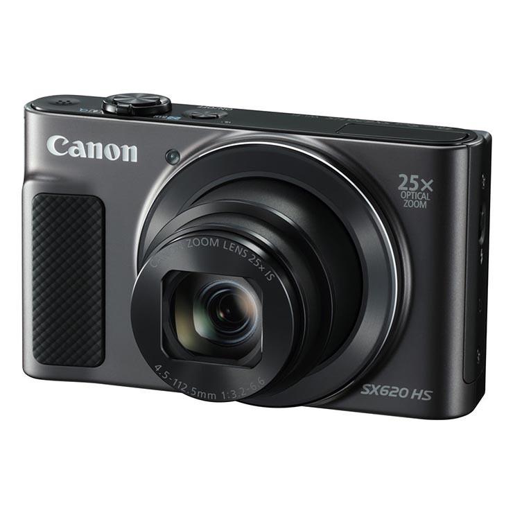 Canon PowerShot SX620 Compact Camera (Black)