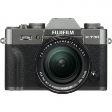 Fuji X-T30 Mirrorless with 18-55mm Lens (Charcoal Silver)