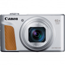 Canon PowerShot SX740 (Silver)