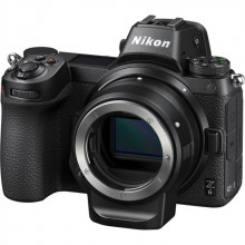 Nikon Z6 Full-Frame Mirrorless Digital Camera + FTZ Adaptor