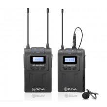BOYA UHF DUAL W/L MIC SYST 1+1