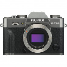 Fuji X-T30 Mirrorless Body (Charcoal Silver)
