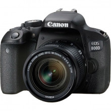 Canon EOS 800D Body + 18-55mm f/3.5-5.6 IS STM lens