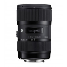 Sigma 18-35mm F1.8 DC HSM | Art for Canon
