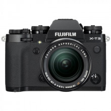 Fujifilm X-T3 Mirrorless Digital Black Kit Camera + XF 18-55mm