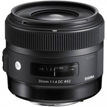 Sigma 30mm F1.4 EX DC HSM Art for Canon
