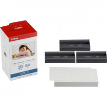 Canon KP-108IN Color Ink Cartridge and Photo Paper Set