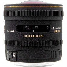 Sigma 4.5mm F2.8 EX DC Fisheye for Nikon