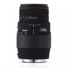 Sigma 70-300mm F4-5.6 DG APO Macro for Canon
