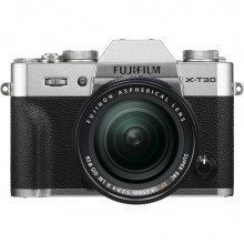 Fuji X-T30 Mirrorless with 18-55mm Lens (Silver)
