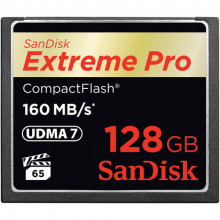 SanDisk Extreme Pro Compact Flash 128GB - 160MB/s