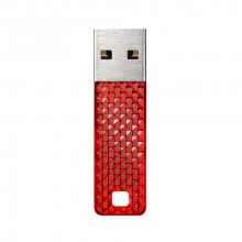 SanDisk Cruzer Facet 32GB  Flash Drive (red)
