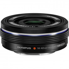 Olympus M.Zuiko Digital ED 14-42mm f/3.5-5.6 EZ Lens (Black)