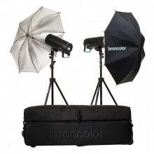 Broncolor Siros 400 Basic 2-Light Wi-Fi/RFS 2.1 Kit