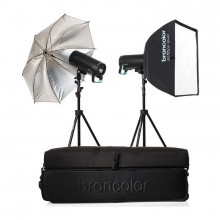 Broncolor Siros 800 S WiFi/RFS 2.1 Expert 2-Light Kit