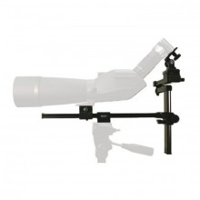 Bushnell Digiscoping Bracket in use | Scope and tripod not included