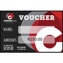 Cameraland Gift Voucher - R250
