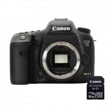 Canon EOS 7D Mk II Body & Wifi Adapter